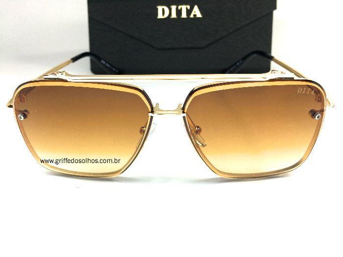 Óculos de Sol Dita MachSix DTS121-62  Dourado