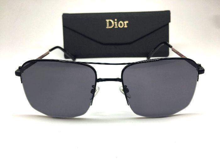 Christian Dior Óculos de Sol Masculino  Lente Preta
