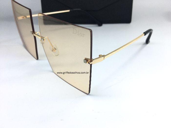 Oculos de Sol Dior Square sem Aro