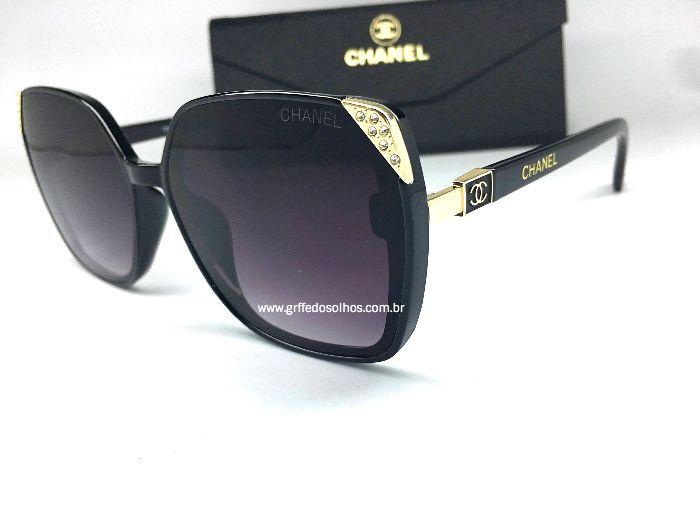 Oculos de Sol Clássico Chanel