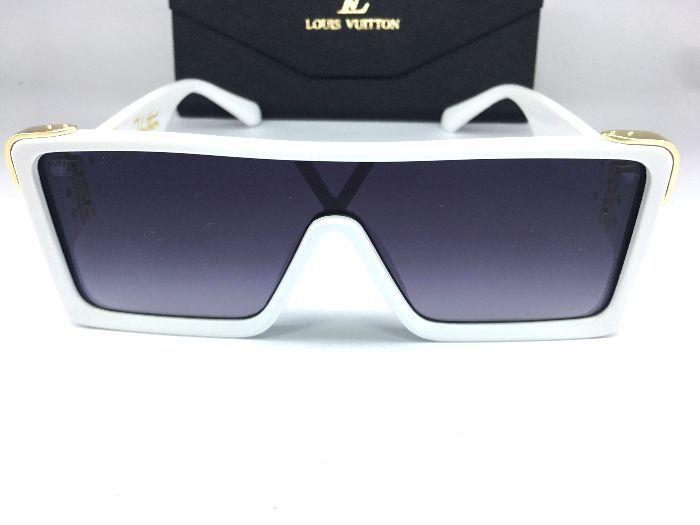 Oculos Quadrado Louis Vuitton Square - Armação Branca