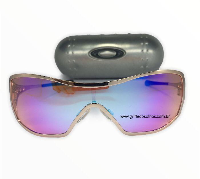 Oakley Rosa Dart Prizm - Oculos Rosa Espelhado Feminino