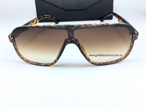 Oculos de Sol Carrera Masculino - Acetato Tartaruga