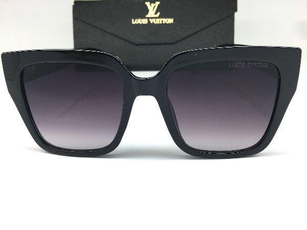 Óculos de Sol Clássico Louis Vuitton / Preto