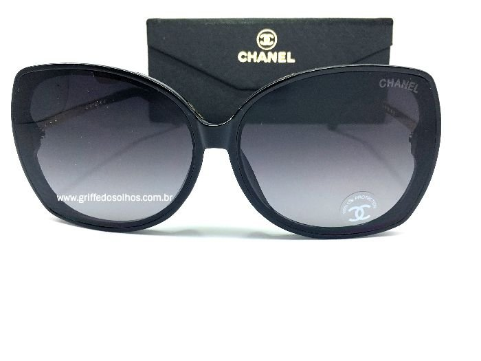 Oculos de Sol Feminino Chanel Borboleta