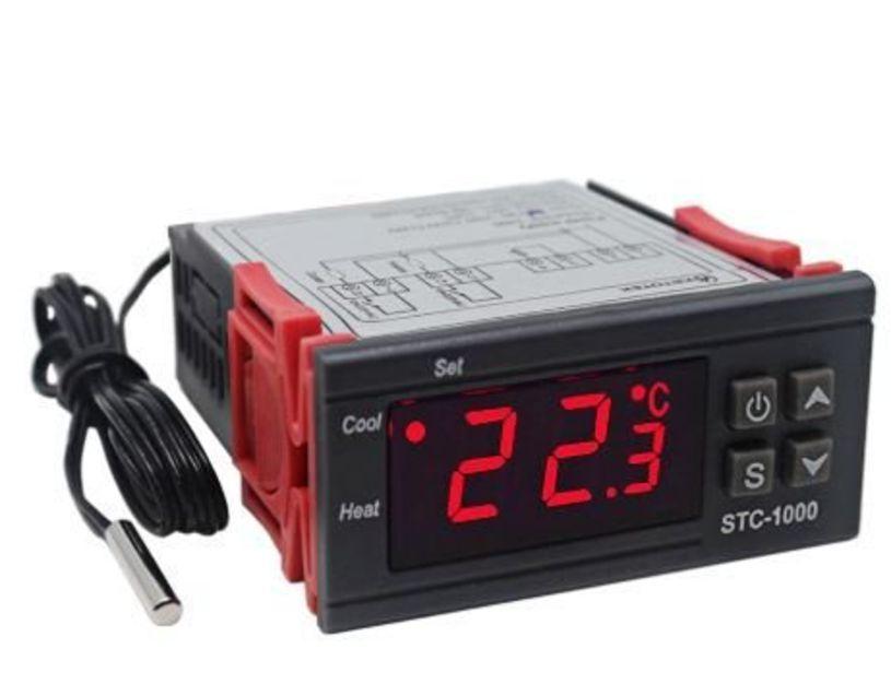 Termostato Digital Prova De Agua Aquario Stc1000 Impermeável