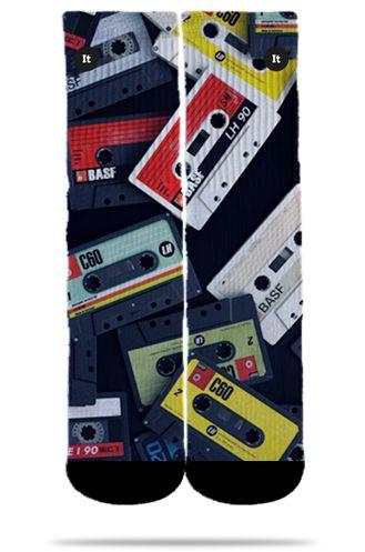 Fitas Cassete Anos 80 - Meias ItSox