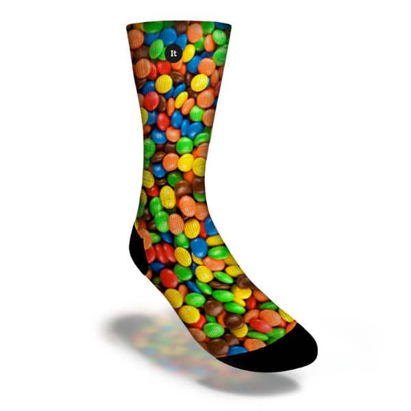 Confeitos Coloridos MM's - Meias ItSox