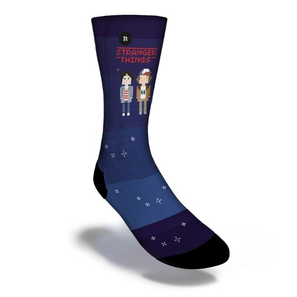Stranger Things Personagens - Meias ItSox