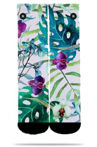 Floral Aquarela - Meias ItSox