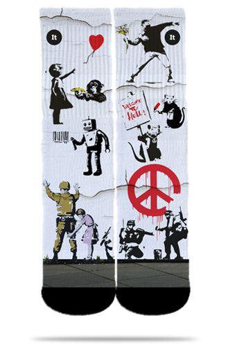 Banksy - Meias ItSox