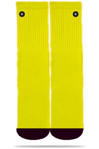 Neon Yellow - Meias Itsox