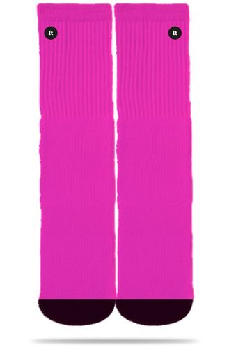 Neon Pink - Meias Itsox