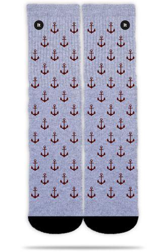 Anchor Gray - Meias ItSox