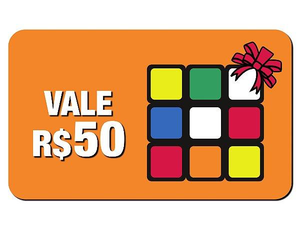 e0965c016 VALE PRESENTE R$50 - Cuber Brasil - Cubo Mágico Profissional e ...