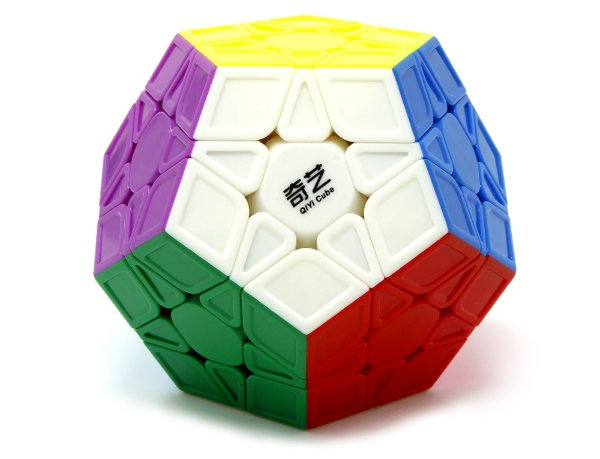 MEGAMINX QIYI COLOR