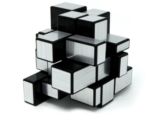 MIRROR BLOCKS PRATEADO