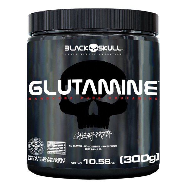 Glutamine Black Skull