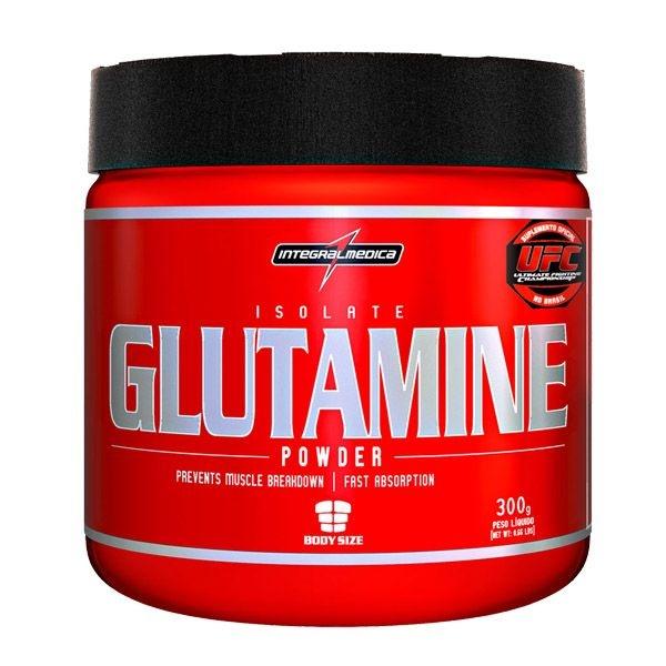 Isolate Glutamine Powder Integralmédica 300g