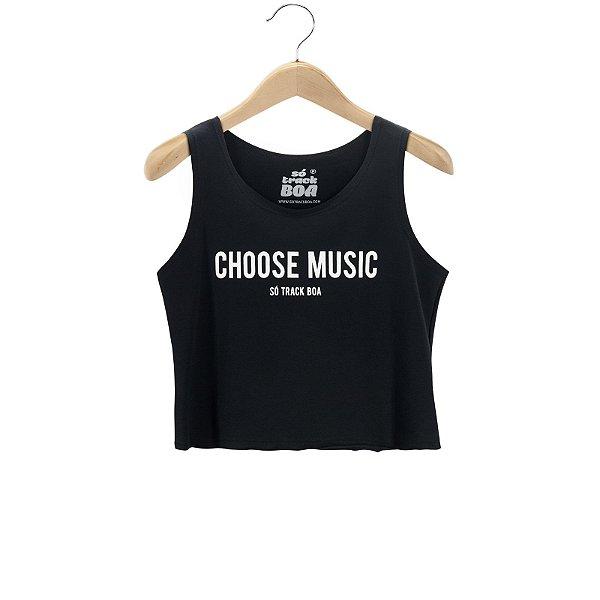 Regata Cropped Choose Music