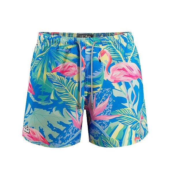 Shorts Flamingo (STB x Mic Fun)