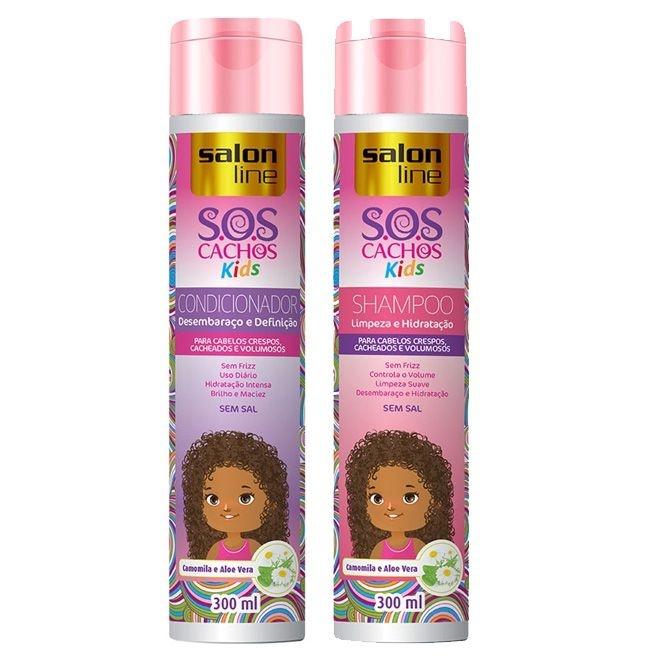 Shampoo Cachos Kids+ Condicionador Cachos Kids