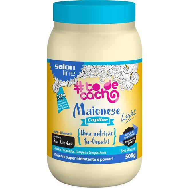 Maionese Capilar Light #TodeCacho - Uma Nutrição  500g