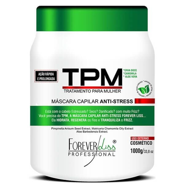 Máscara TPM Forever Liss Anti Stress 1kg