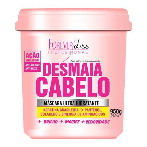 Forever Liss Desmaia Cabelo Máscara Anti Volume e Frizz 950g