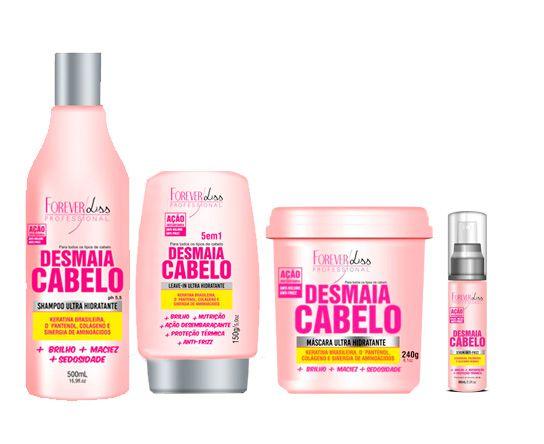 Forever Liss Desmaia Cabelo Kit (4 Produtos)