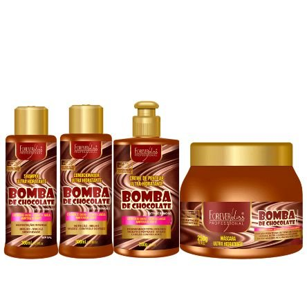 Kit Bomba de Chocolate Forever Liss
