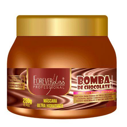 Bomba de Chocolate Forever Liss Máscara Hidratante 250g