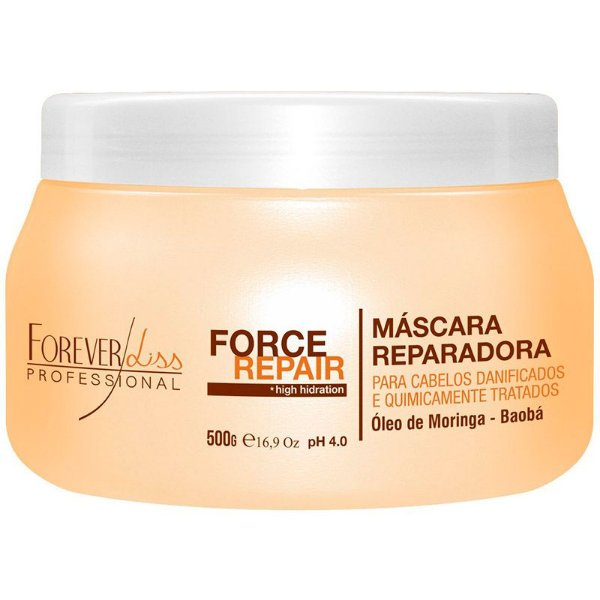 Forever Liss Máscara Force Repair - 500gr