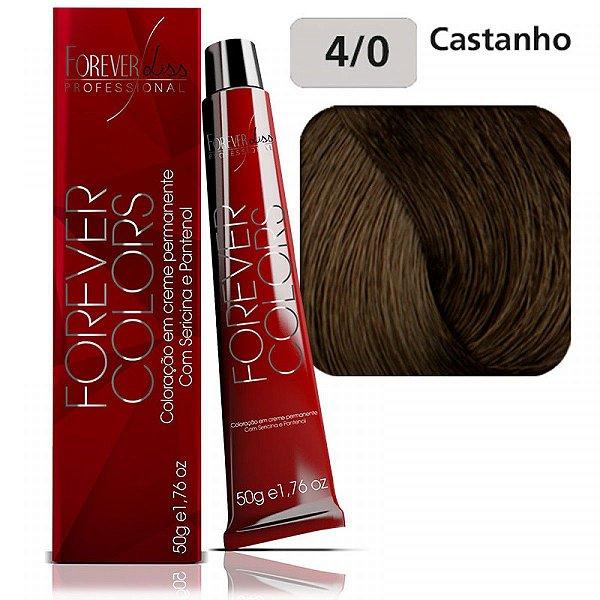 Coloração Forever Colors - Natural 4-0 Castanho