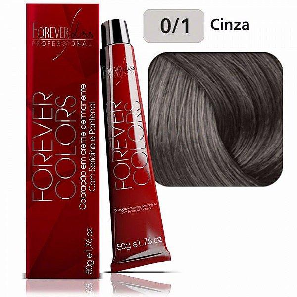 Coloração Forever Colors - Corretor 0-1 Cinza