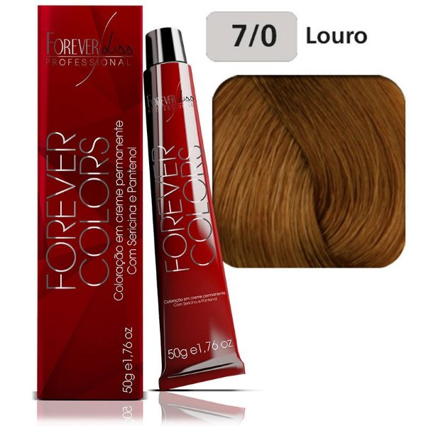 Coloração Forever Colors - Natural 7-0 Louro