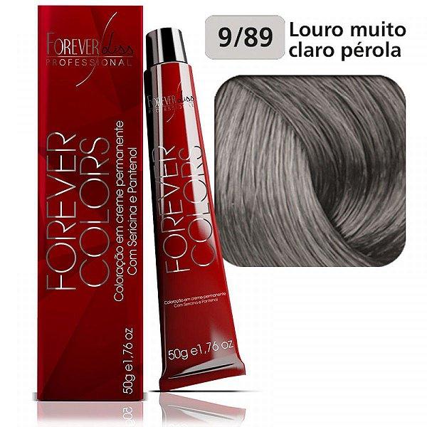 Coloração Forever - Pérola 9-89 Louro Muito Claro Pérola
