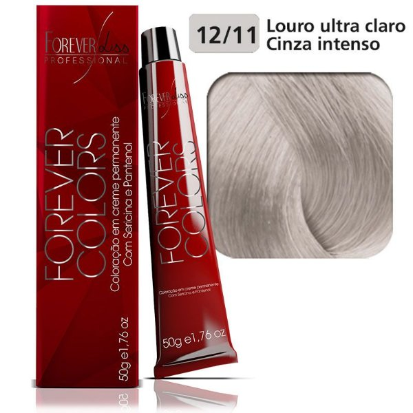 Coloração Forever - Clareador12-11 Louro Ultra Claro Cinza