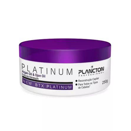 BTX Platinum Plancton Professional Creme Alisante 250g