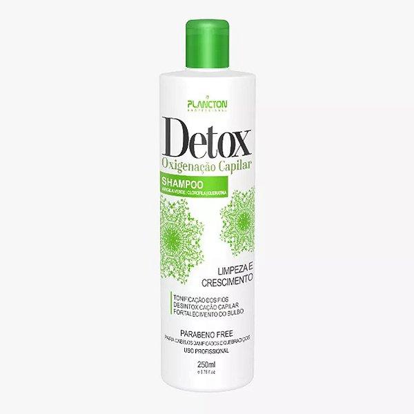Detox Oxigenação Capilar Plancton Shampoo 250ml