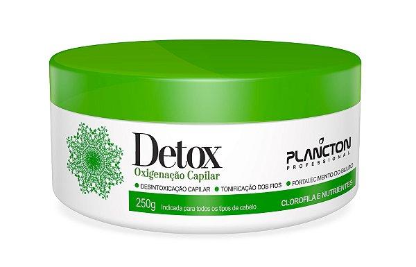 Detox Plancton Máscara Oxigenação Capilar 250g