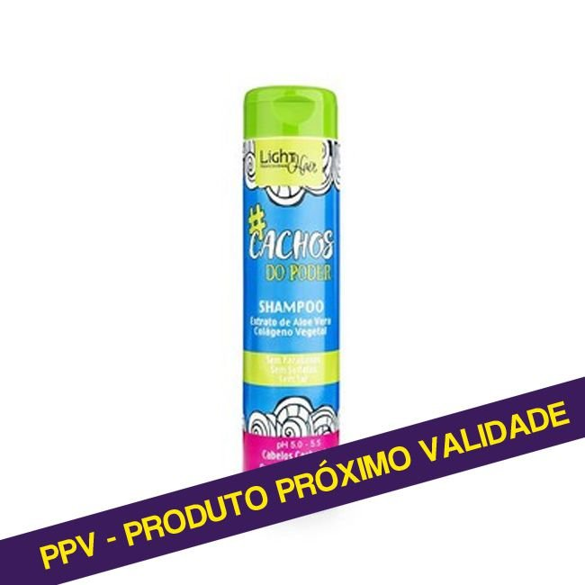 PPV SHAMPOO #CACHOS DO PODER 300 ML