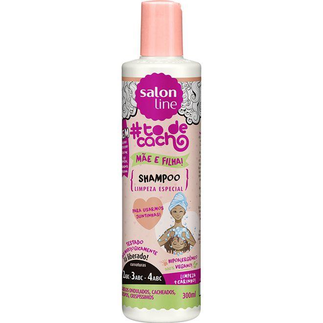 Shampoo #todecacho Mãe e Filha {LIMPEZA ESPECIAL!} - 300 ml