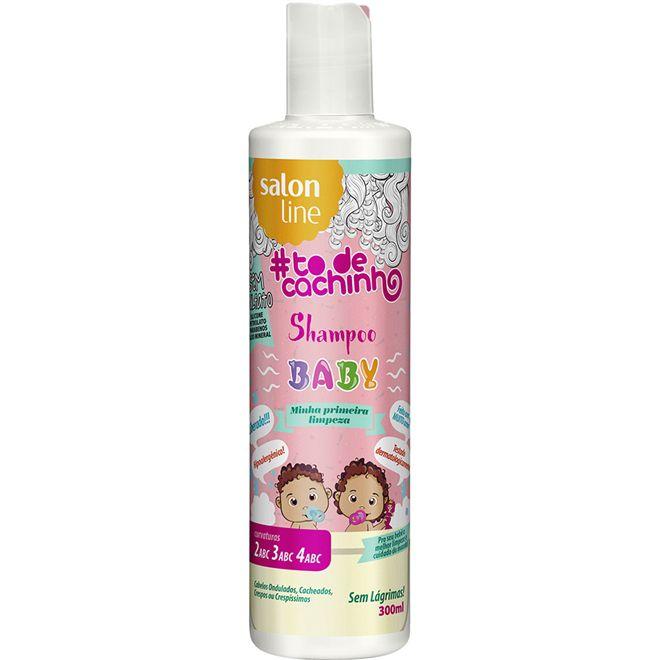 Shampoo Baby #TODECACHINHO {MINHA PRIMEIRA LIMPEZA!} 300 ml