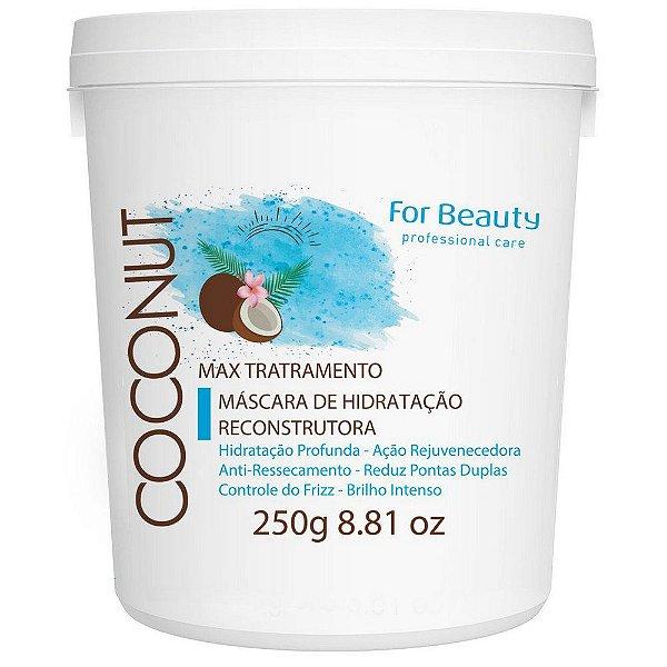 For Beauty Coconut Hidratação Reconstrutora Máscara 250g