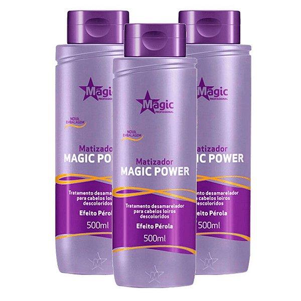 Kit Atacado Magic Color Profissional Efeito Perola 500ml