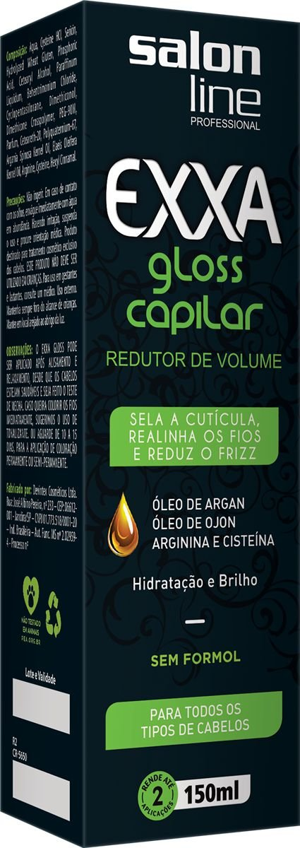 Redutor de Volume Capilar Salon Line Exxa 150ml