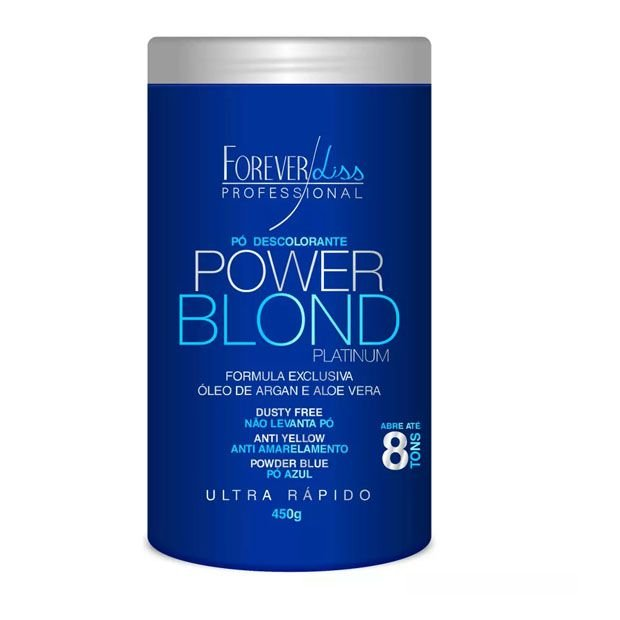 Pó Descolorante Power Blond Forever Liss 450g