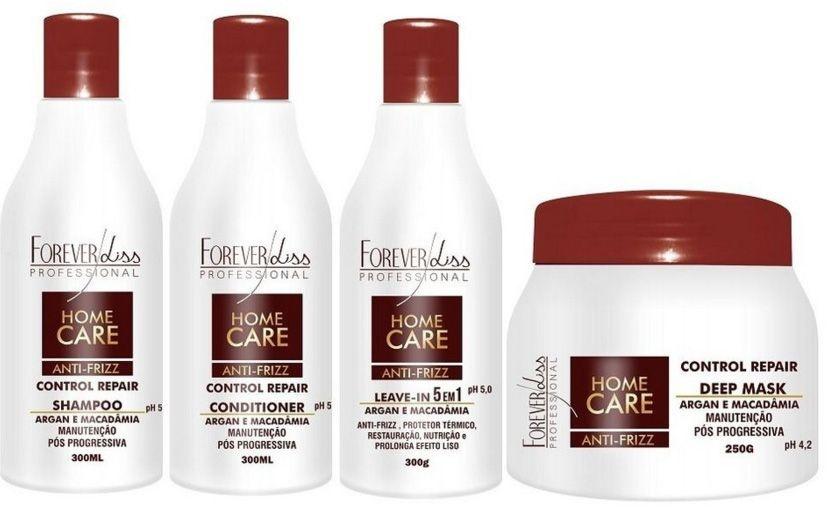 Forever Liss Kit Pós Progressiva Home Care (4 produtos)
