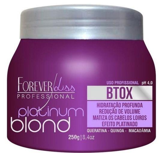 Forever Liss Matizador Platinum Blond Btx Intensive - 250gr